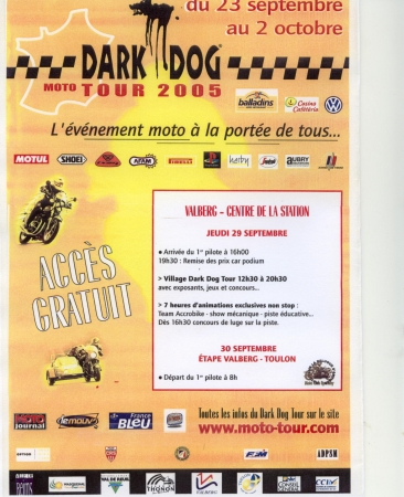 Dark dog / Moto tour 2005